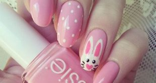 15+ Simple Easter Nail Design Ideas, Trends & Stickers 2017 - Nail art design