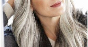 Because of grandma! What used to be considered taboo is nowadays mega in: gray hair! W ...