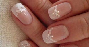 Bridal & Wedding Nail Design 50+ Wedding Nails Pictures #Nail Design #Wedding ...