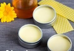 From only four natural ingredients, you can use a wholesome lip balm with honey.