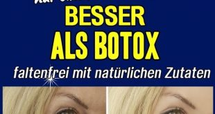 Who needs Botox when natural products achieve similar effects and ...