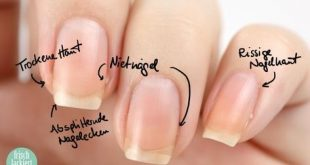 Nail Care Step by Step - Tips - Help - by freshly painted