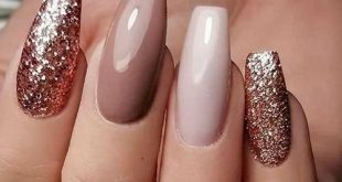 45+ designs with nude nail polish Click here to learn more ... #nails #nailsdesign ...