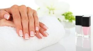Groupon - one-hour deep massage or shellac manicure with ... #once ...
