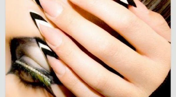 Make Black And White Gel Nails Yourself 70 Gel Nails Patterns