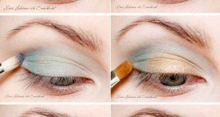 Subtle glances with this Eye Makeup tutorial. #augen #blicke # this #makeup ...