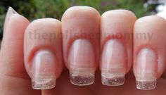With two forms and hard gel increase the length of your natural nail ... - The Polish ...