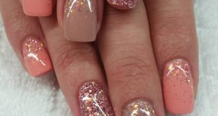 # fingernails # nails # natural nails #fullcover #glitter #NAILDESIGNS # - carme ...
