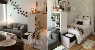 10 ideas to divide your studio If the bedroom goes in a corner, you can ...