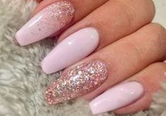 14 fabulous ways to wear mismatched glitter nails ...