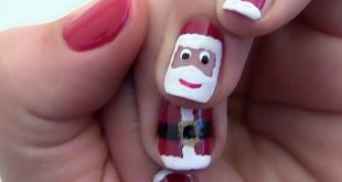 20 Christmas nail styles. christmas nails desings. Nails style. Nails art ....
