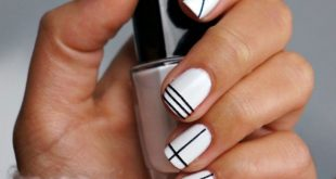 20 ideas of minimalist designs for your nails that you will see at least once ...