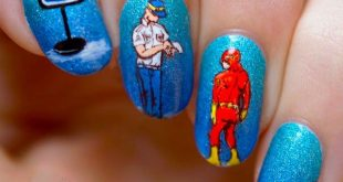 23 Nail designs that tell a story. Nails ideas. Nails desings storie ...