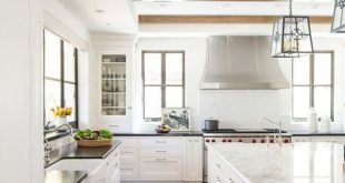 35 The best design ideas for white kitchen cabinets to improve your kitchen - Trendeh ...