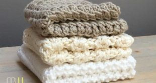 Always on the 12th of the month, there is a good pattern for knitting kitchen towels. P ...