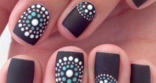 Brilliant and impressive winter nail art design ideas that you must try 07 - looksglam ...
