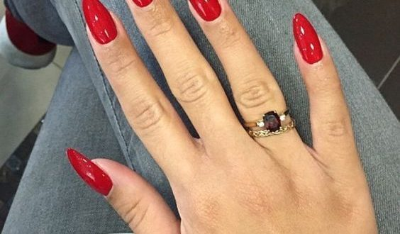 Nail Gel Spring 2019 Nails 2018 Nail Gel Oval Nail Design