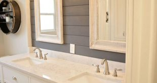 Seabrook Styles Shiplap Makeover - Ideas for bathroom renovation