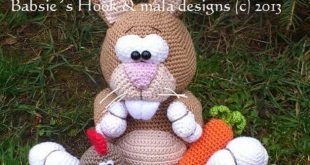 This crochet pattern includes the description for the Ossihasen and the kle ...