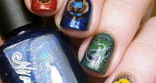 20 incredible nail designs, inspired by Harry Potter, that even use muggles