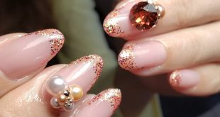 , Glitter French has a new colorful design , , The cuticles are beautiful with their well-known Trinity Care system. , , , SCHMUCKcoll
