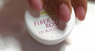 Buse Gummy Make-up e Fiber Gel Rose Prima di essere limato...  Già