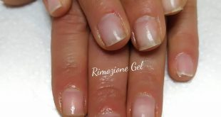 Gel removal Nails without problems