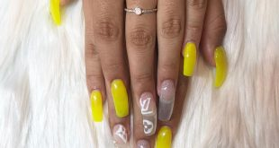 Neon Louis Vuitton Summer for   she got a fill and the original set is not my w