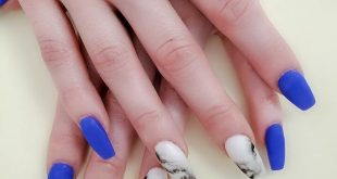 Aren't these nails so fun?! . . .