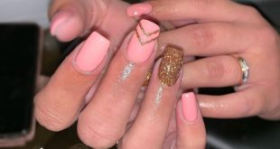 Currently my fav pink                  nails
