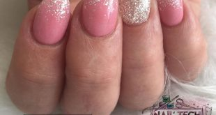 How pretty are these! Created using  Sophia and clear with Glam and Glits Ice Br