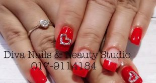 Nails are the one thing you can get into shape without exercise.  Pick up your p