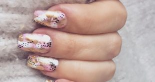 Niki nailed it! I love this abstract nail art by the best  of  . Knit from  . .