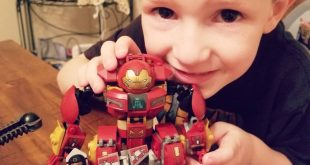 Three hundred seventy-five pieces later, he's a very happy boy. Have you put  se