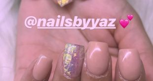 Acrylic overlay on her natural nails ! No tips used  - [ ] . - [ ] . - [ ] . - [