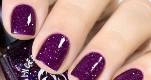 And today I want to show the purple Ginger Polish Purple Night from 2 layers + top.