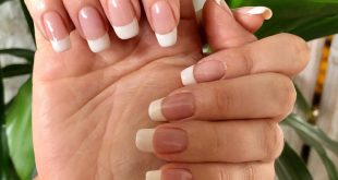 Dipping powder on natural real nails. Look at  how amazing that length is!! I lo