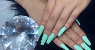 Fresh Light Mint Green  -