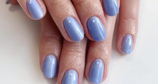 How pretty is this colour? Gel mani's are the perfect natural nail enhancement.