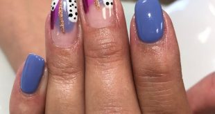 Lets talk about how much I Love abstract nails. Ladies, these are ALWAYS a fun t