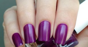 Luxury and nobleness in a shade of 862 from)) There are three layers and a matte fini