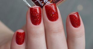 Ru / Eng ~ Although I am not a big fan of red varnishes, this one immediately caught me. Is empty