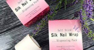 Silk for repair of nails (tape on a sticky basis) available ⠀ In manicure seam