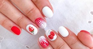 Summer ready nails ... what do you think ... yes or no? . . . .