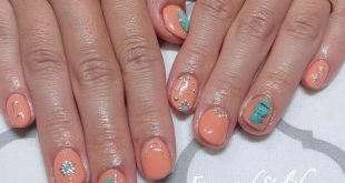 Turquoise x orange . 120 minutes art unlimited ¥ 9000 (+ tax) . Charge ★ MAMI .