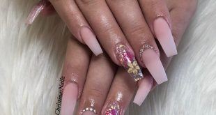 Valentino's Glamorous Nude and Prettiest Pink Ombré  . . . .         ChicsHairan