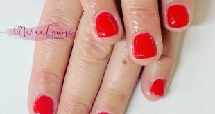 Why not a HOT Red for the weekend  . . .  Maree Louise  PM me to book an appoint