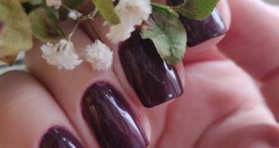 Autumn is here, and so are these awesome plum shades   Dermosil - Festive