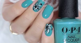 Chic cream polish from OPI from the new collection Teal hue, perfect