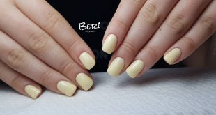Friday with yellow banana .. What's better than that?  clear 0545425966  Beautiful gel polish